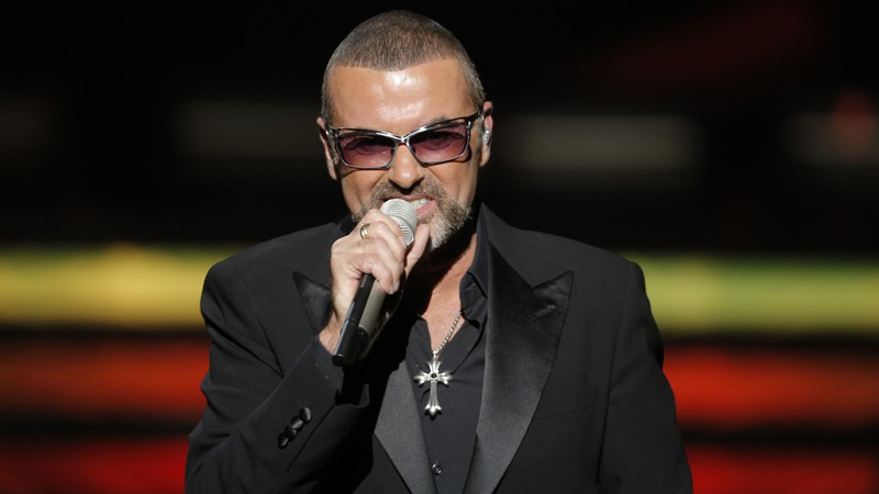 O cantor e compositor George Michael