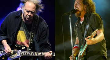 Neil Young e Pearl Jam - AP