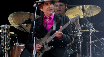 None - O cantor e compositor Bob Dylan durante show em 2010 (Foto: Press Association/AP)