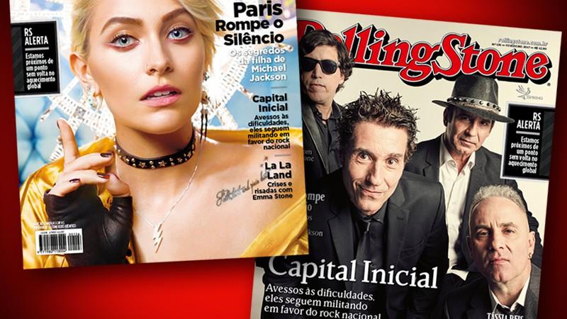 Rolling Stone · Capital Inicial e Paris Jackson estampam as capas da edição 126 da Rolling Stone Brasil