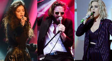 Lorde, Father John Misty e Katy Perry, atrações do Glastonbury 2017 - Montagem