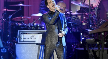 Brendon Urie, do Panic! at the Disco - Chris Pizzello/Invision/AP