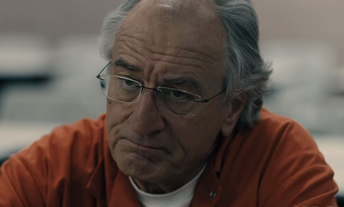 Robert De Niro no trailer de The Wizard of Lies
