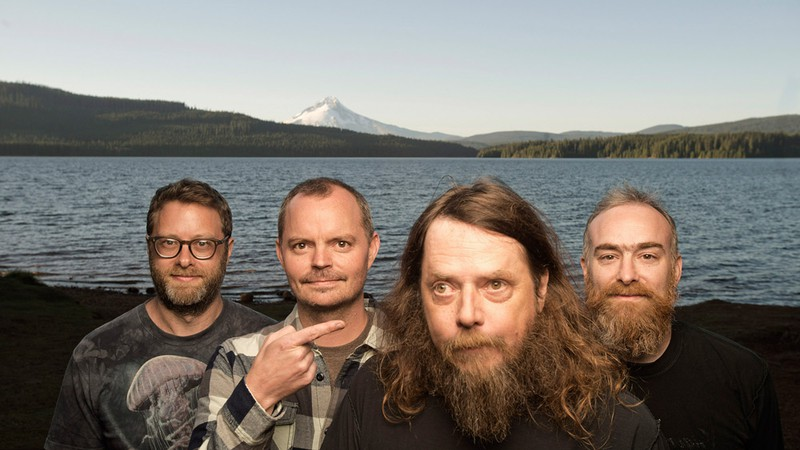 A banda norte-americana Red Fang