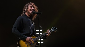 Chris Cornell durante show do Soundgarden no Welcome to Rockville Festival, em Jacksonville, Estados Unidos - Rex Features/AP