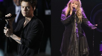 Harry Styles e Stevie Nicks tocaram juntos no primeiro show solo do cantor do One Direction nos Estados Unidos - AP/Sipa USA via AP