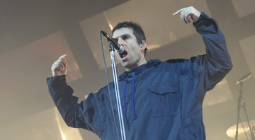 Liam Gallagher, ex-vocalista do Oasis, no primeiro show solo dele - AP