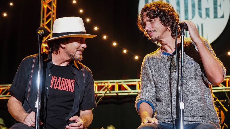 Eddie Vedder e Chris Cornell