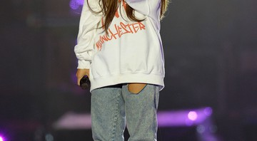 Ariana Grande no show beneficente One Love Manchester - AP