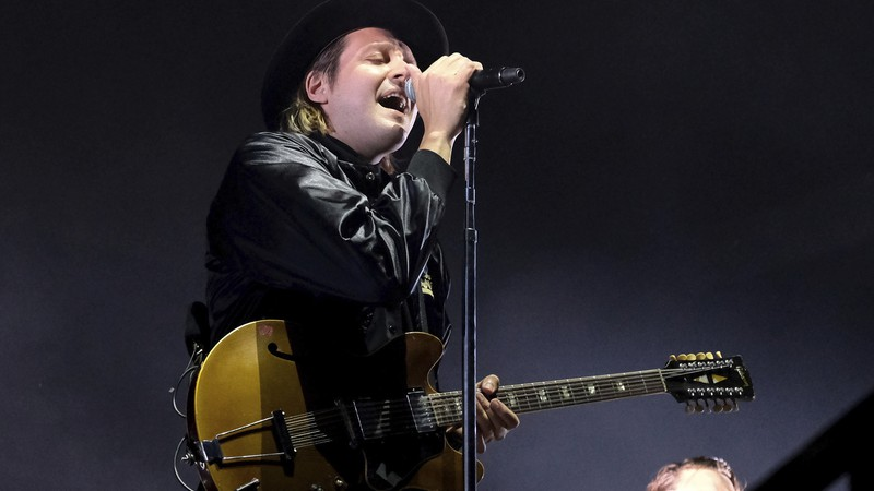 Win Butler, vocalista do Arcade Fire