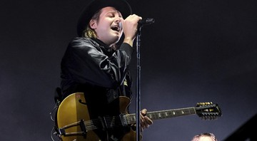 Win Butler, vocalista do Arcade Fire - Dawn Fletcher-Park/Invision/AP