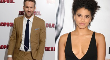 Ryan Reynolds e Zazie Beetz  - AP
