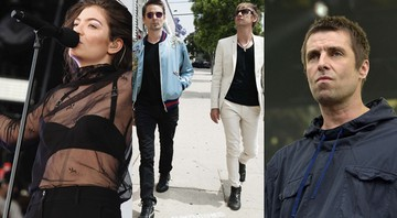 Lorde, Muse e Liam Gallagher - AP