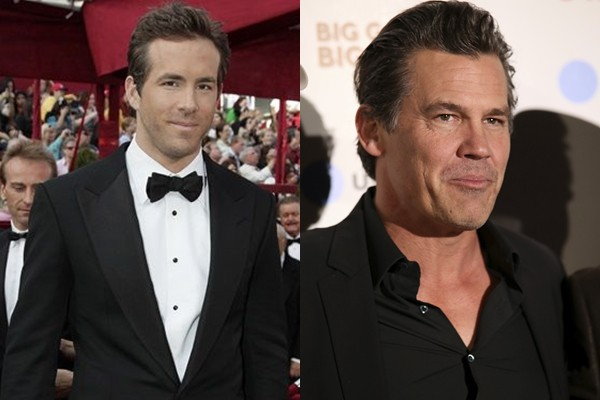 Ryan Reynolds e Josh Brolin
