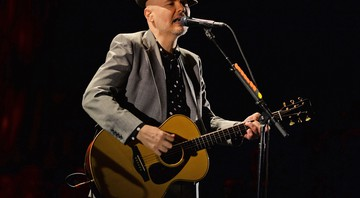 Billy Corgan durante apresentação do Smashing Pumpkins nos Estados Unidos, em 2016 - Associated Press