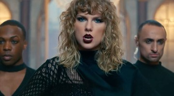 "Taylor Swift no clipe de ""Look What You Made Me Do"" - Reprodução"