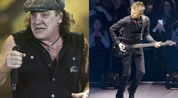 Brian Johnson e Muse - Associated Press