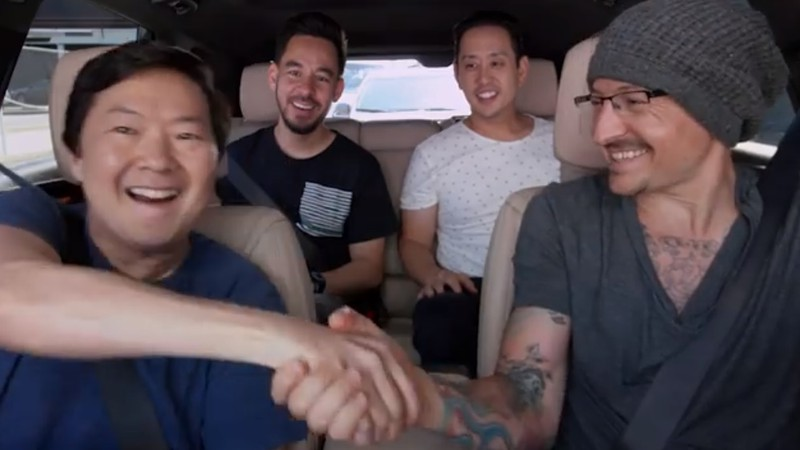 Carpool Karaoke do Linkin Park