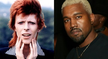 David Bowie e Kanye West - Rex Features/AP/