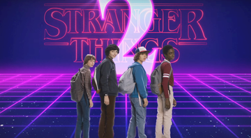 "Cena do videoclipe ""Totally Tubular"", de Stranger Things 2 - Reprodução/Vídeo"