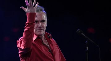 None - O cantor Morrissey (Foto: AP)