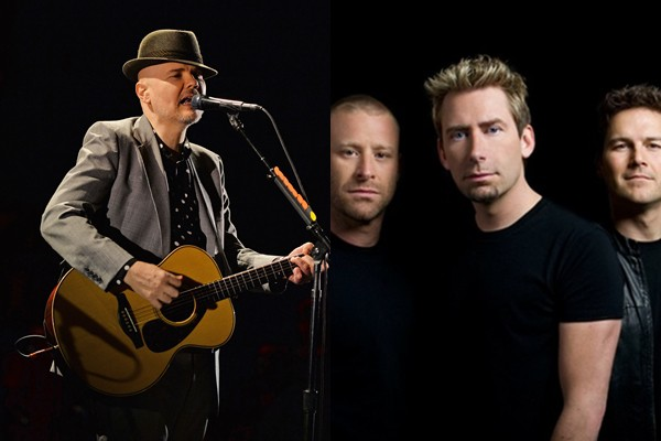 Billy Corgan e Nickelback