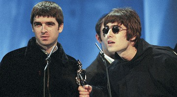 None - Noel e Liam Gallagher (Foto:John Marshall/JME/AP)