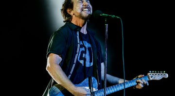 Eddie Vedder, do Pearl Jam, no Lollapalooza 2018 - Andréia Takaishi