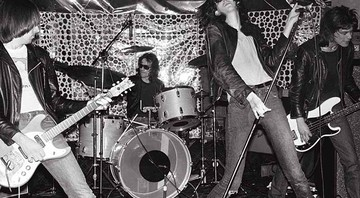 Ramones - Cortesia de Danny Fields e Reel Art Press