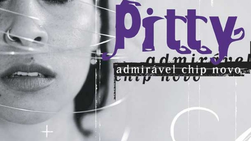 Capa do disco de estreia de Pitty, Admirável Chip Novo?
