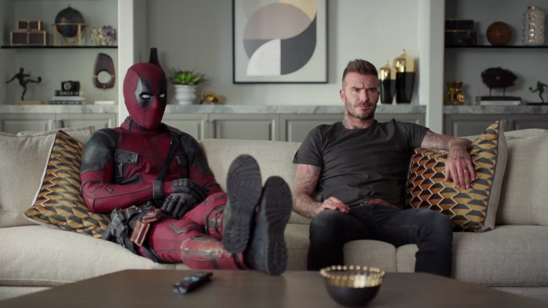 Deadpool e David Beckham se encontram no novo vídeo promocional de Deadpool 2