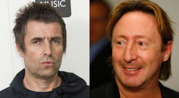 None - Montagem com Liam Gallagher (Foto: Joel C Ryan / AP) e Julian Lennon (AP Photo / Wilfredo Lee)