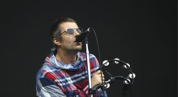 None - Liam Gallagher no Festival Glastonbury. (Foto: Joel C Ryan/AP)