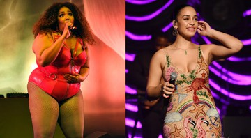None - Lizzo e Jorja Smith (Foto 1: ZZ/KGC-138/STAR MAX/IPx 2019 Foto 2: Chris Pizzello/Invision/AP)