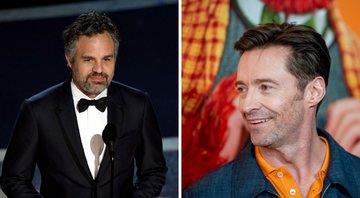 None - Mark Ruffalo e Hugh Jackman (Foto 1: Kevin Winter/Getty Images e Foto 2: Roy Rochlin/Getty Images