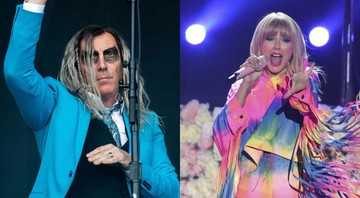 None - Maynard James Keenan e Taylor Swift. (Foto: Daniel Karmann / Picture Alliance / dpa / Chris Pizzello / AP)