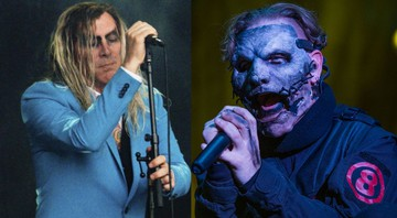 None - Maynard James Keenan do Tool e Corey Taylor do Slipknot (Foto 1: Markus Green/Picture Alliance/dpa/AP | Foto 2: Amy Harris/Invision/AP)