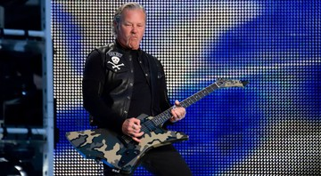 None - O vocalista do Metallica, James Hetfield (Foto: Sipa via AP Images)