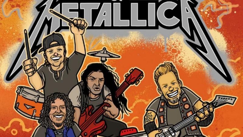 Acredite se quiser: Metallica vai publicar um livro para crianças