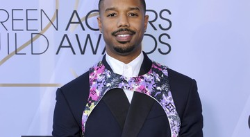 None - Michael B. Jordan no 25º SAG Awards, em Los Angeles (Foto: Willy Sanjuan/Invision/AP)