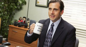 None - Steve Carell como Michael Scott em The Office (Foto: Reprodução/ Comedy Central)