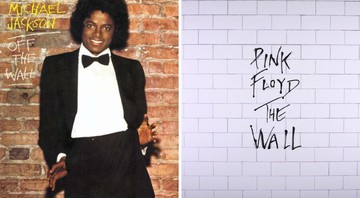 None - Álbum Off the Wall, do Michael Jackson e The Wall, do Pink Floyd (Fotos: divulgação)