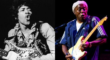 None - Montagem com Jimi Hendrix (Foto: AP Images) e Buddy Guy (Foto 1: Scott Wintrow / Getty Images)