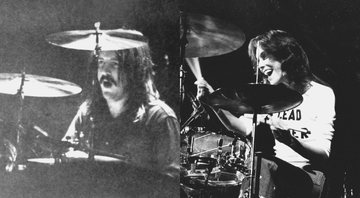 None - Montagem com John Bonham (Foto:dpa/picture-alliance/dpa/AP Images) e Karen Carpenter (Globe Photos/MediaPunch/IPx)