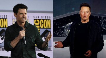 None - Montagem com Tom Cruise (Foto: Chris Pizzello / Invision / AP File) e Elon Musk (AP / Ringo HW Chiu)