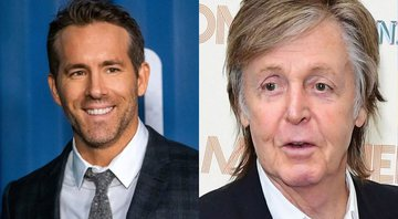 None - Montagem de Ryan Reynolds (Foto: Charles Sykes/AP Images) e Paul McCartney (Foto: Press Association via AP Images)