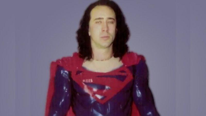 Rolling Stone · Como Nicolas Cage e Tim Burton quase estragaram Superman nos cinemas (ideia incluia traje transparente)