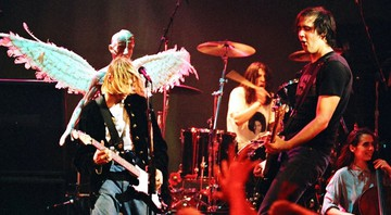None - Nirvana no Live and Loud, 1993 (Foto: Jeff Kravitz/FilmMagic)