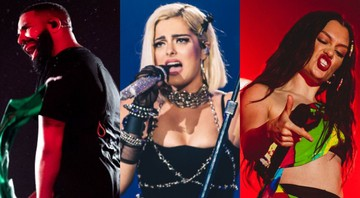 None - Drake, Bebe Rexha e Jessie J no Rock in Rio 2019 (Foto 1: Theo Skudra/I Hate Flash | Foto 2: Helena Yoshioka/I Hate Flash | Foto 3: Wesley Allen/I Hate Flash):