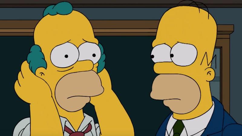 Os Simpsons: Krusty, o Palhaço, teria sido introduzido como Homer Simpson disfarçado; entenda